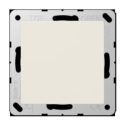 jung as500 blindplaat creme a594 0. Black Bedroom Furniture Sets. Home Design Ideas