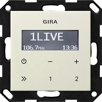 Gira Inbouwradio Met Rds Zuiverwit Glanzend Exclusief